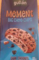 Moment Big Choco Chips Dark Chocolate - Producto