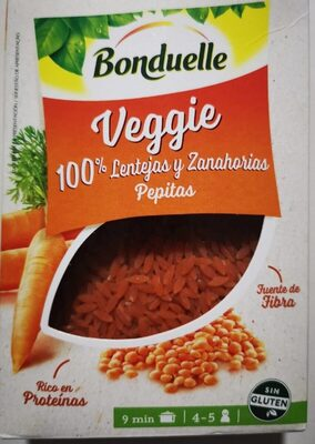 Bonduelle Veggie Lentejas y Zanahorias - Product - es