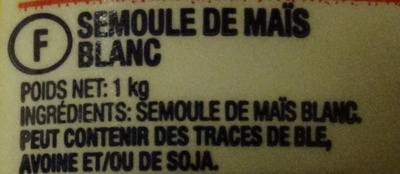 Harina de maíz - Ingredientes - fr