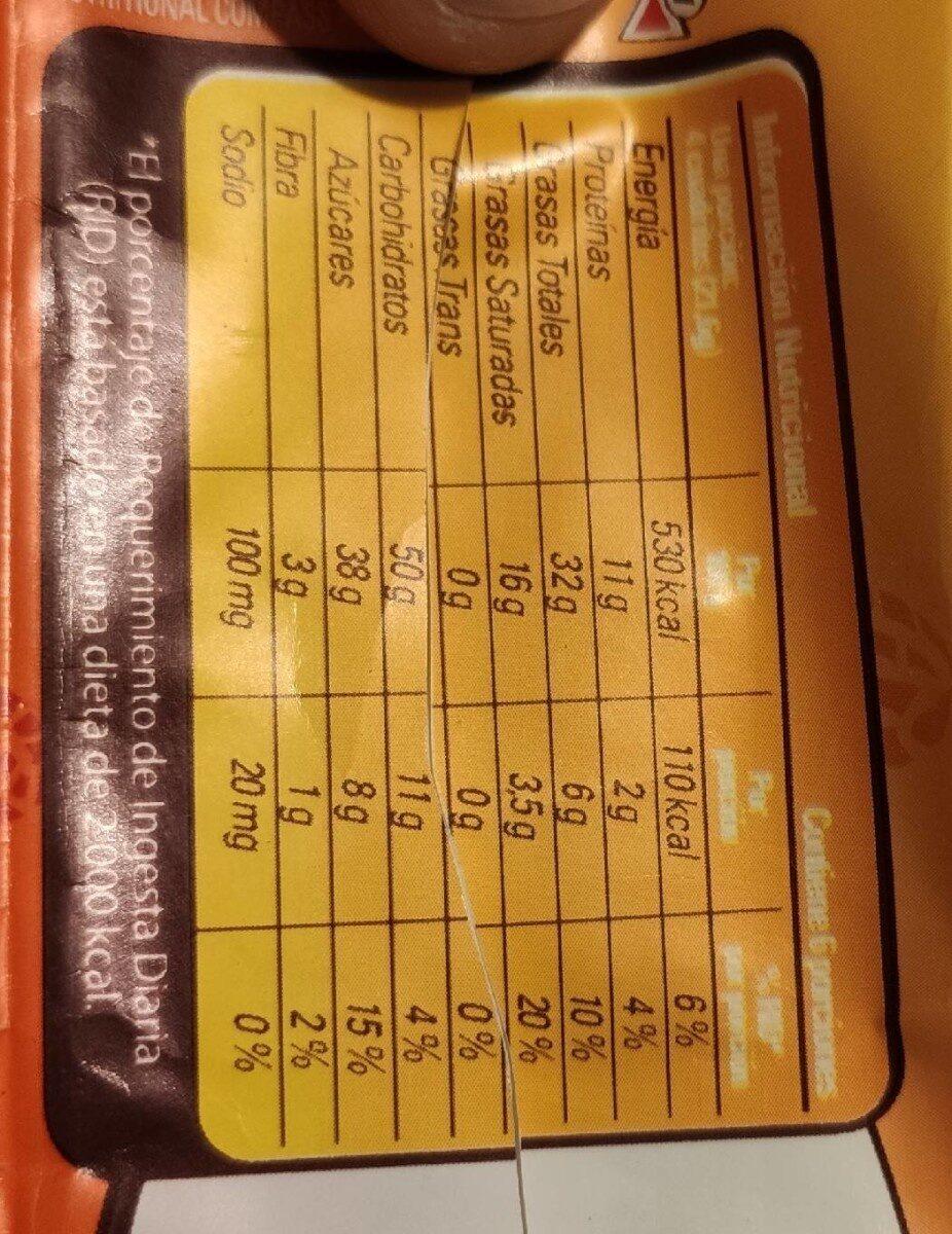 Rikiti - Nutrition facts