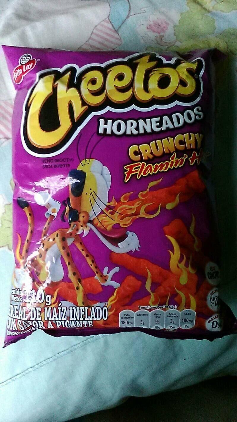Horneados crunchy flamin' hot - Producte - es