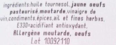 Ail et fines herbes - Ingredienti - fr