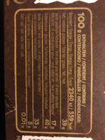 Ragusa noir - Informations nutritionnelles