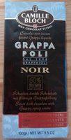 Chocolat Suisse fourré Grappa liquide - Product - fr