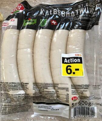 Saucisse a rotir de veau - Product - fr