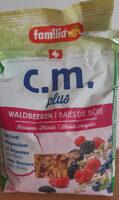 Müsli Waldbeeren - Product - en