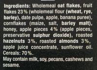 Original Muesli - Ingredients - en
