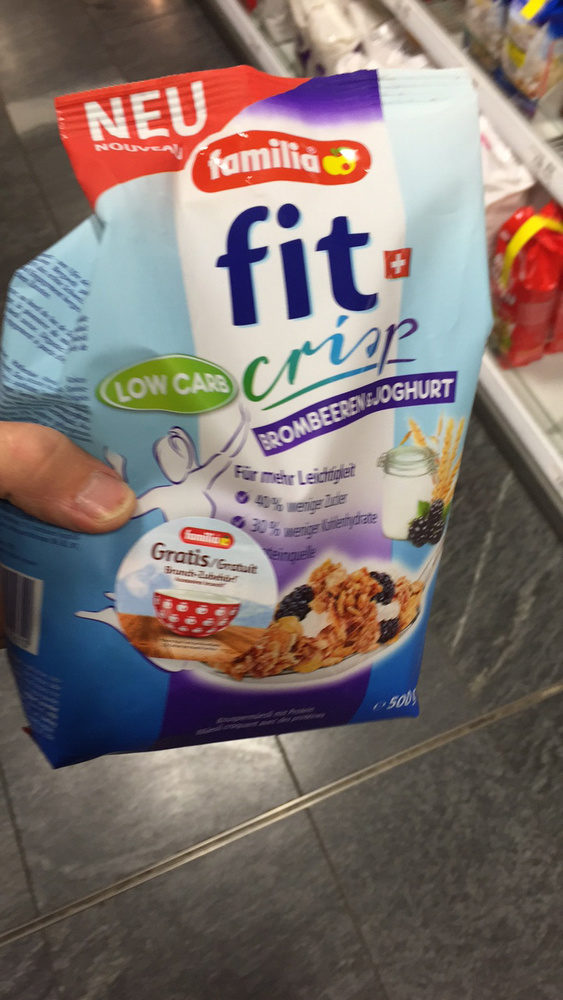 Fit Crisp : Mûres&Yogurt - Product - fr