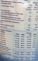 Fit Crisp : Mûres&Yogurt - Voedingswaarden - fr