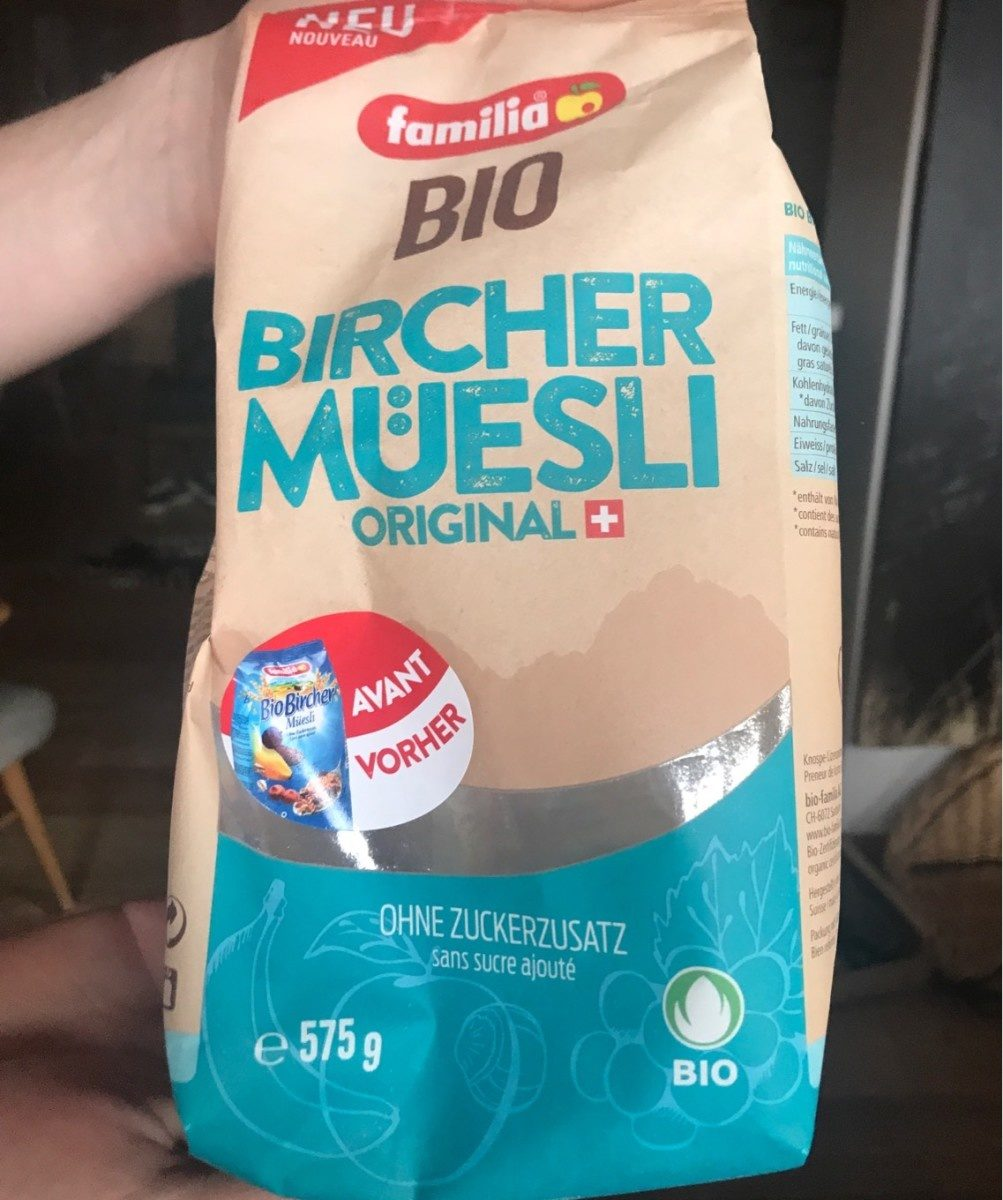 Bircher Muesli Original Bio - Prodotto - de