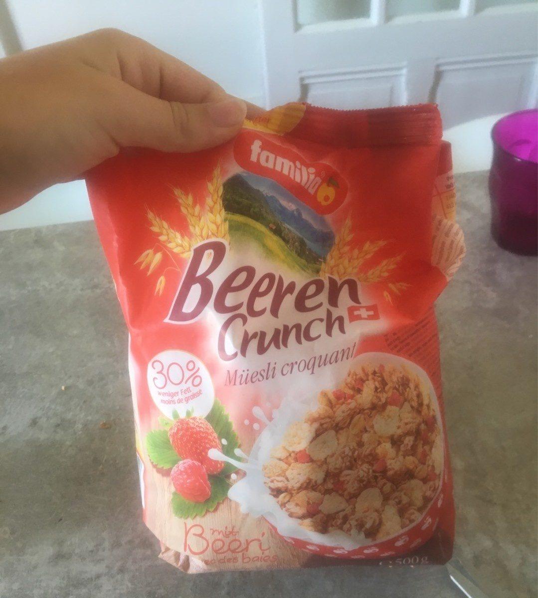Beeren Crunch - Product - fr