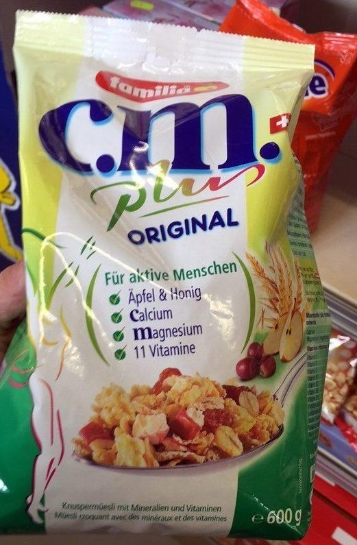 C.M. Plus Original - Produkt - fr