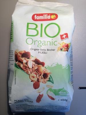 Bio organic Original Bircher Müsli - Produit