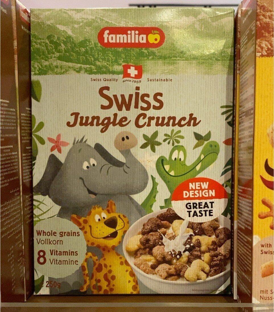 Swiss jungle crunch - Produk - fr