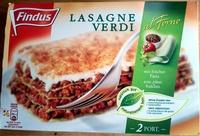 Lasagne Verdi Findus - Produit