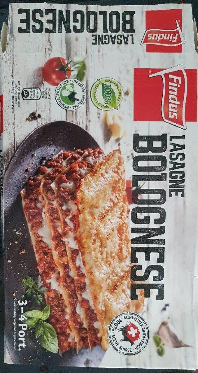 Findus Family pack Lasagne Bolognaise - Valori nutrizionali - fr