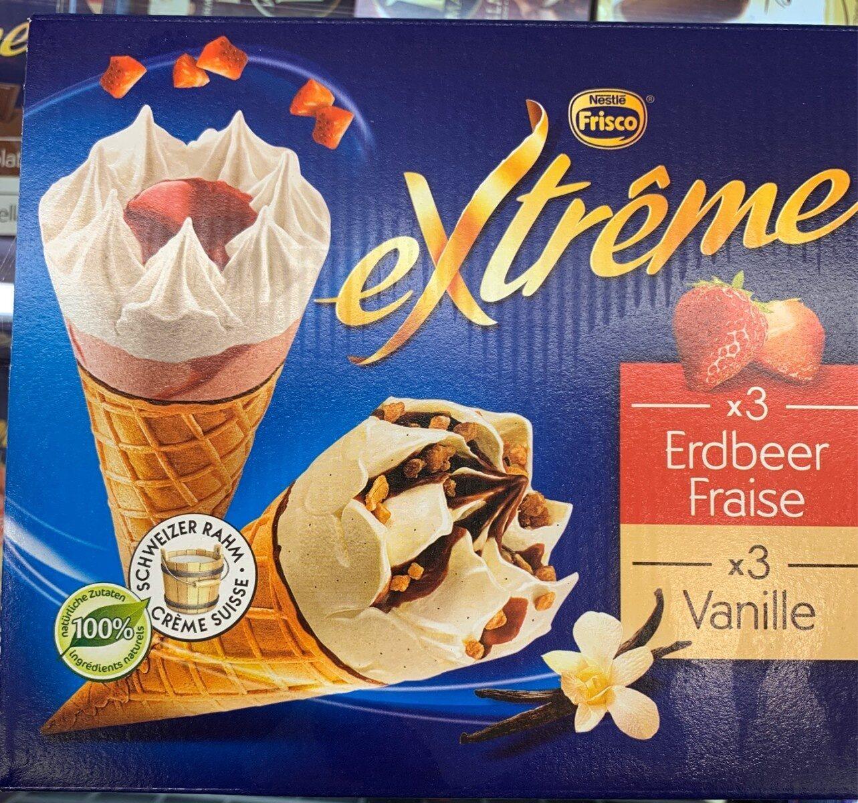 Frisco Extrême 3xFraise 3xVanille - Product