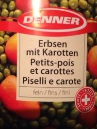Petits pois et carottes - Product - fr