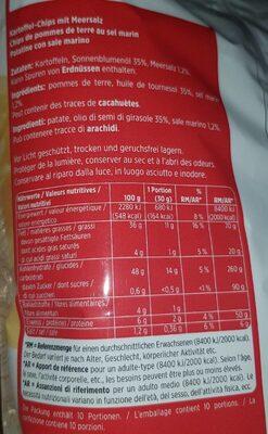 Chips Natur - Ingredients
