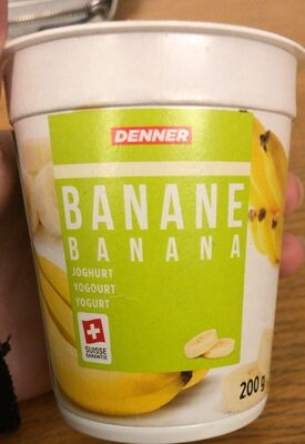 Joghurt Banane - Product - de