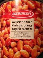 Haricots blancs à la sauce tomate - Produkt - fr