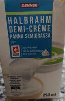Demi-crème - Product - fr