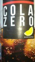Cola zero - Product - fr