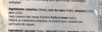 Denner, Melange de noix - Ingrédients