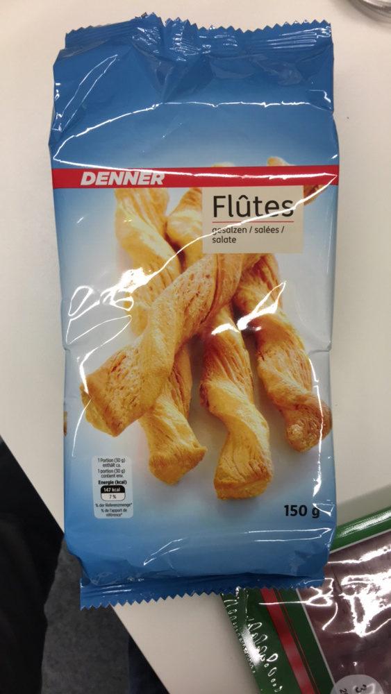 Flûtes salées - Product