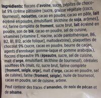 Crunchy Müesli - Ingredients - fr