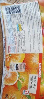 Yogourt à la mandarine - Product - fr