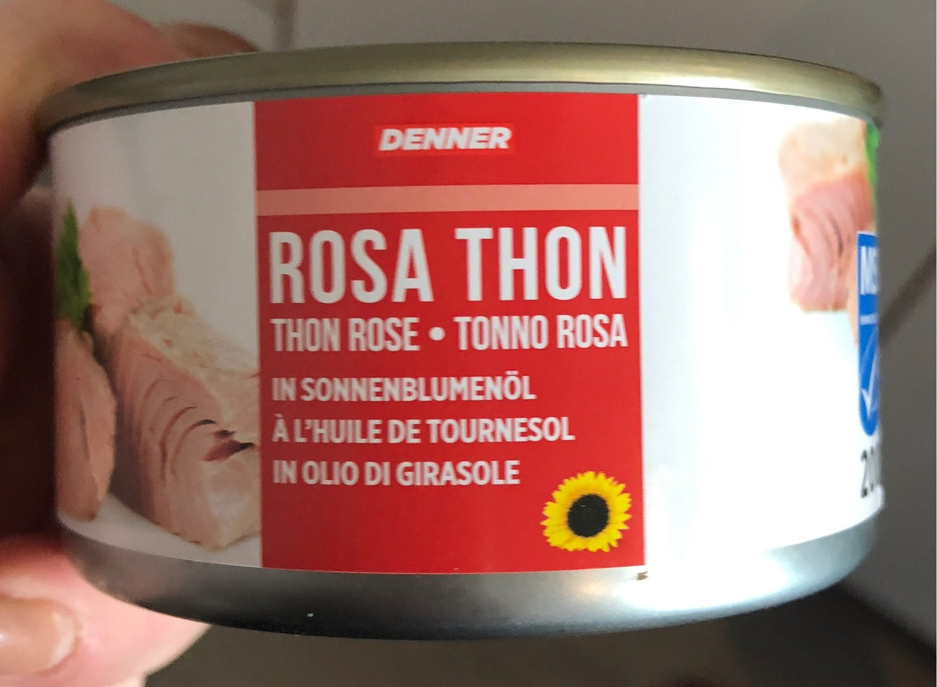 Thon rose - Producto