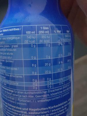 ice tea lemon - Ingredients - de