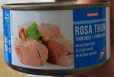Thon rose (à l'eau salée) - Prodotto - fr