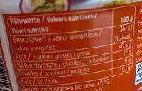 Skyr Mangue-fruit de la passion - Ingredienti - fr