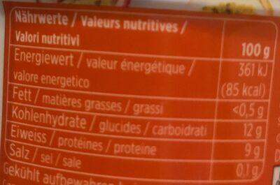 Skyr Mangue-fruit de la passion - Informazioni nutrizionali - fr