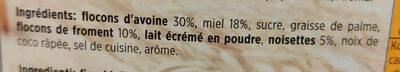 Cerealo crunchy - Ingredients - fr