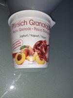 yogourt pêche grenade - Product