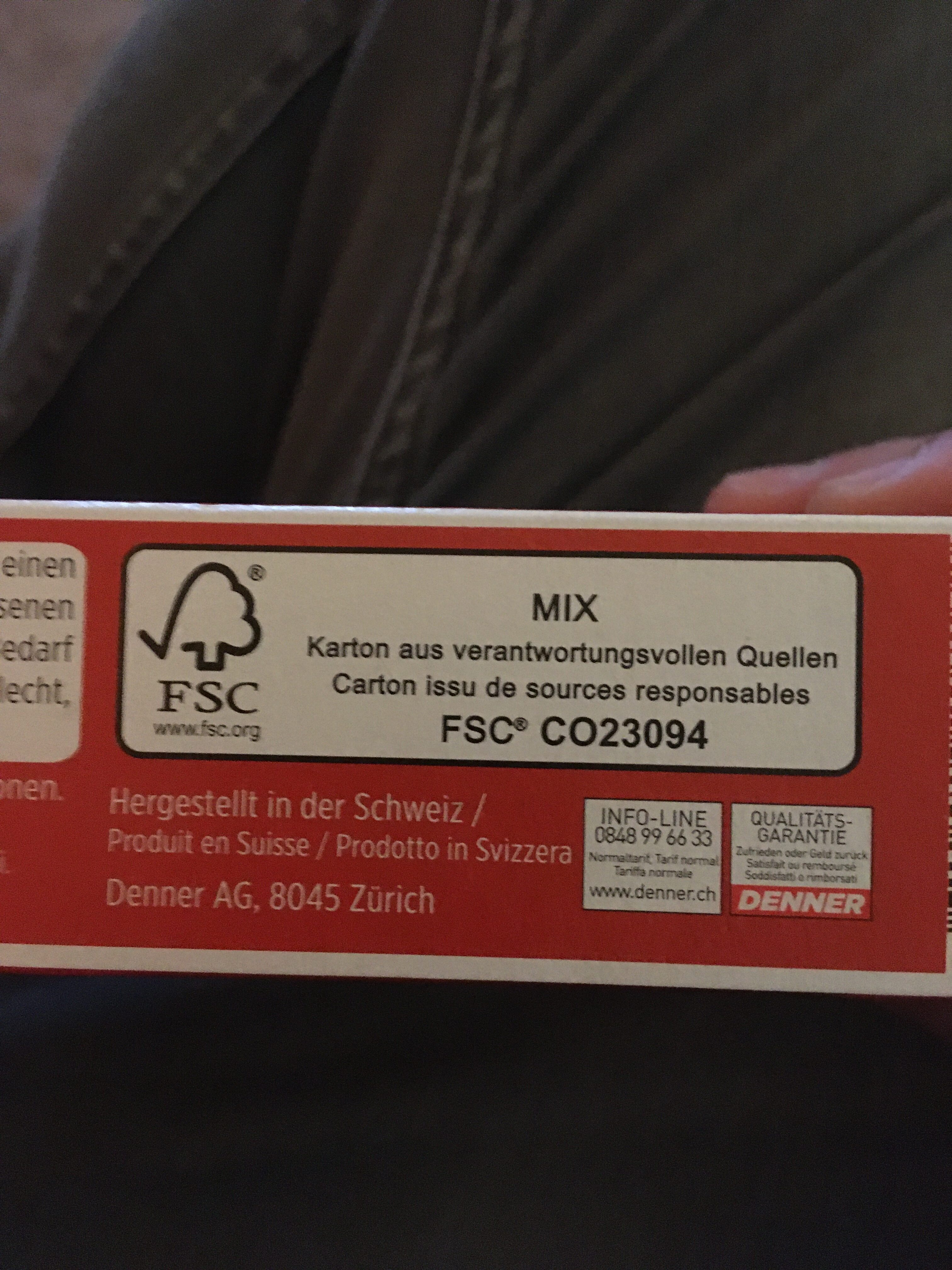 Petit beurre - Recycling instructions and/or packaging information - fr