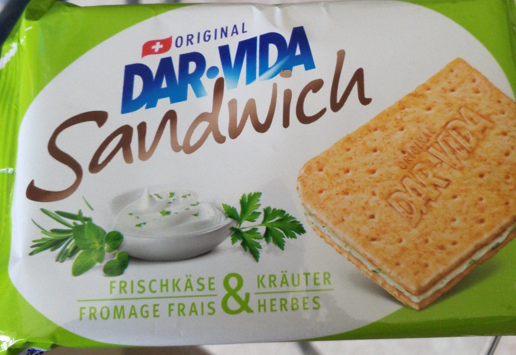 Dar Vida Sandwich Frischkäse & Kräuter - Product