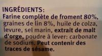 Leinsamen - Ingredients