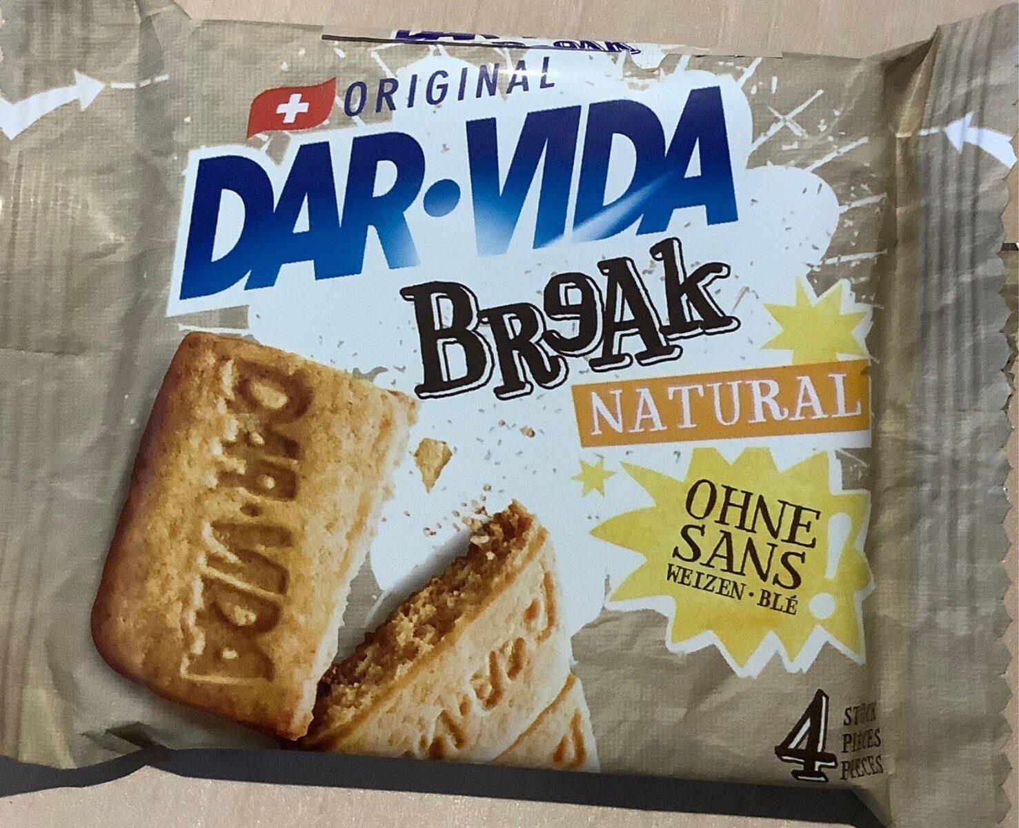 Dar-Vida Break Natural - Product