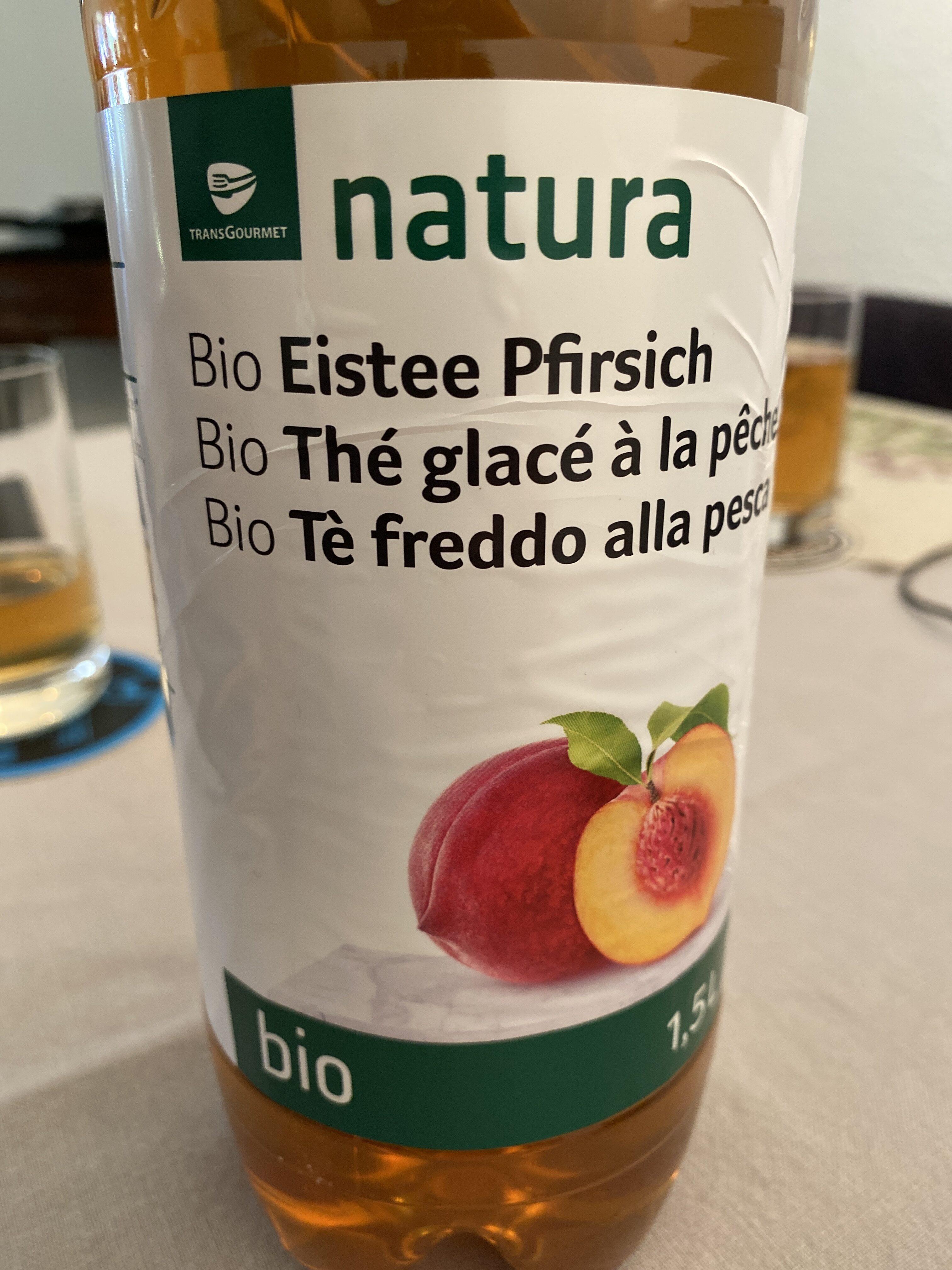 Bio thé glace pêche - Prodotto - fr