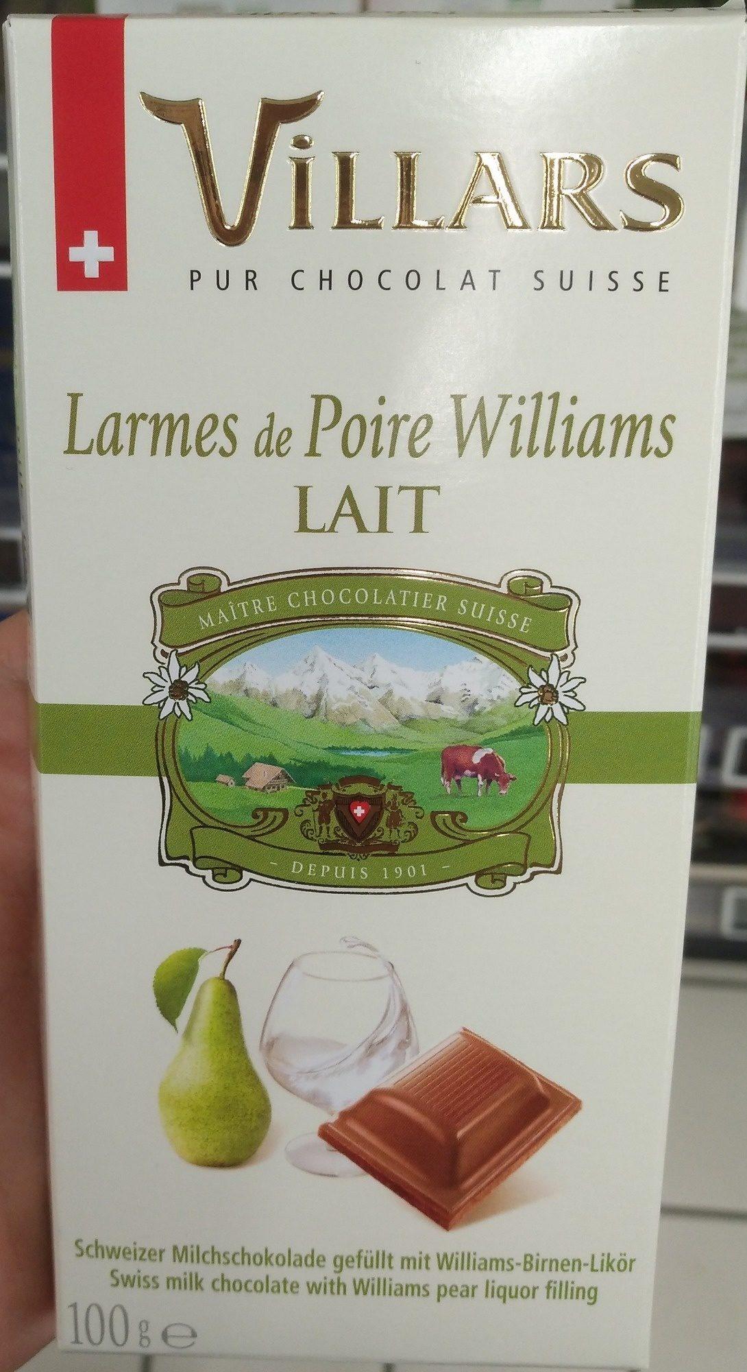 Larmes de Poire Williams LAIT - Produit - fr