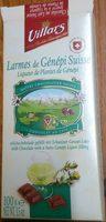 Chocolat au lait aux larmes de Génépi suisse - Produit