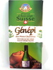 Chocolat au lait suisse fourré Génépi liquide - Product