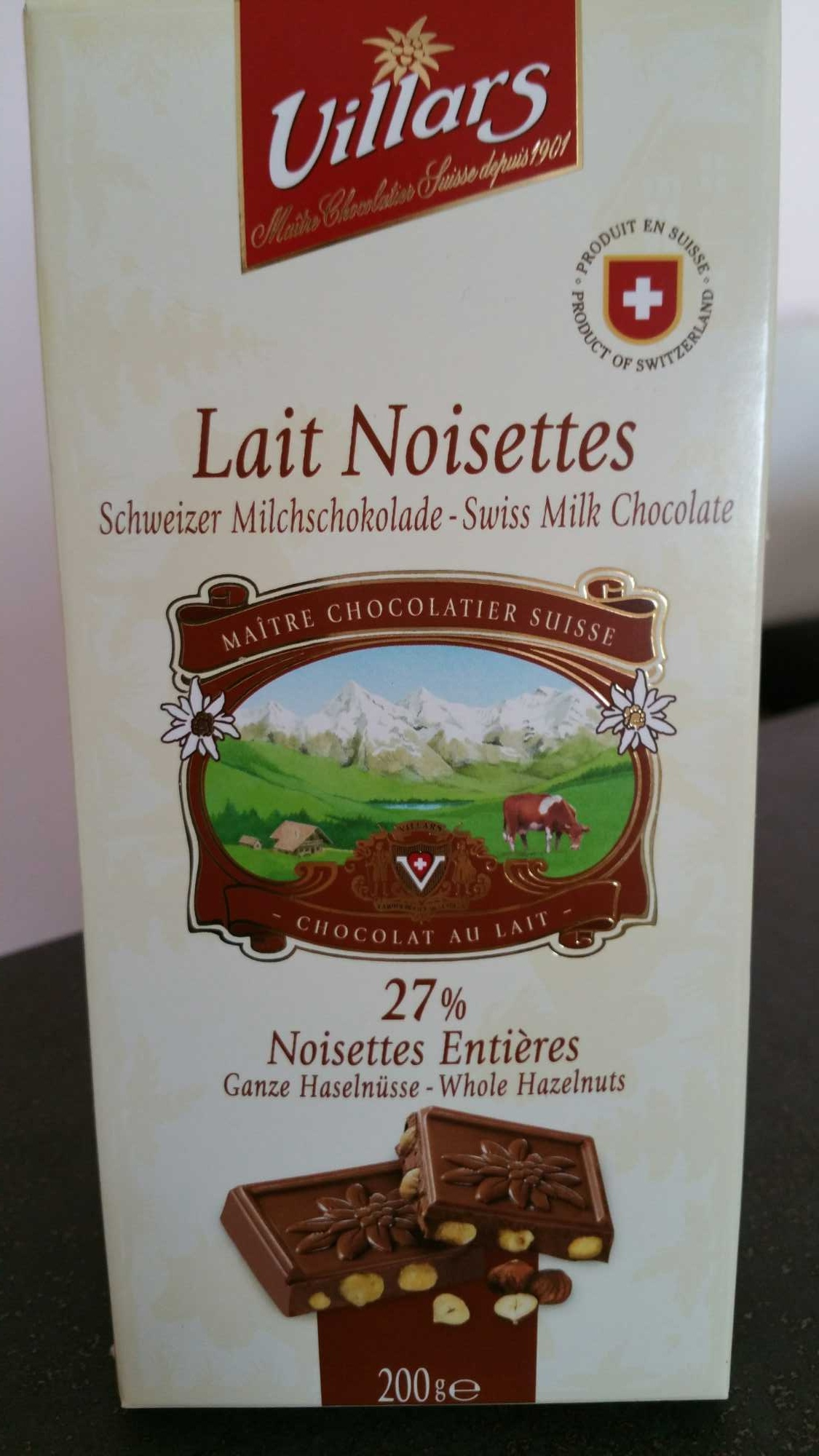 Lait Noisettes - Product - fr