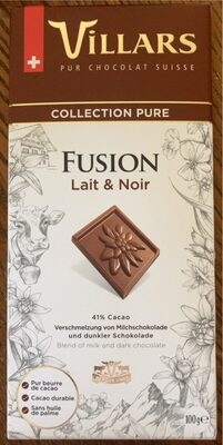 Chocolat au lait Fusion pur - Prodotto - fr