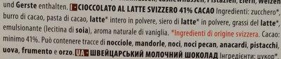 Chocolat au lait Fusion pur - Ingredienti - it