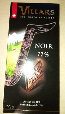 Chocolat Noir 72 % - Product